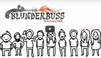 Video for Blunderbuss Magazine Indiegogo Campaign